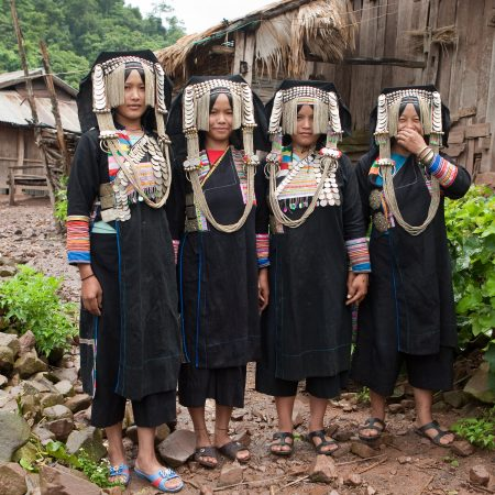 Akha Pixo Group Phongsali in Laos